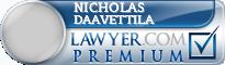 Nicholas J. Daavettila  Lawyer Badge