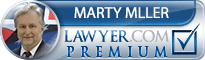 Marty E. Miller  Lawyer Badge