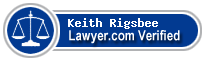 Keith W. Rigsbee  Lawyer Badge