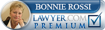 Bonnie E. Rossi  Lawyer Badge
