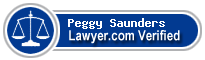 Peggy M. Saunders  Lawyer Badge