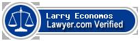 Larry C. Economos  Lawyer Badge