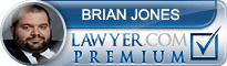 Brian Edward Jones  Lawyer Badge