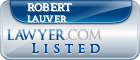 Robert Lauver Lawyer Badge