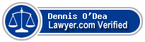 Dennis M. O'Dea  Lawyer Badge