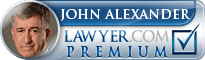 John W. Alexander  Lawyer Badge