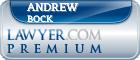 Andrew D. Bock  Lawyer Badge