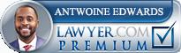 Antwoine Lazevrin Orlando Edwards  Lawyer Badge