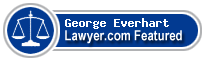 George Andrew Everhart  Lawyer Badge