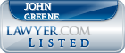 John Greene Lawyer Badge