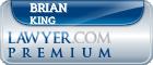 Brian Wayne King  Lawyer Badge