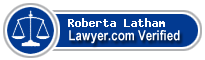 Roberta King Latham  Lawyer Badge