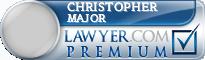 Christopher Barton Major  Lawyer Badge