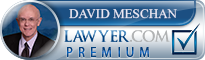 David F. Meschan  Lawyer Badge
