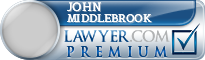 John David Middlebrook  Lawyer Badge