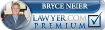 Bryce D. Neier  Lawyer Badge