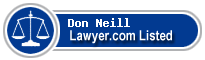 Don Neill Lawyer Badge