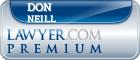 Don Sam Neill  Lawyer Badge