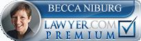 Becca A. Niburg  Lawyer Badge