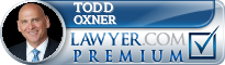 Todd P. Oxner  Lawyer Badge