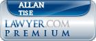Allan B. Tise  Lawyer Badge