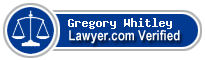 Gregory Thomas Whitley  Lawyer Badge
