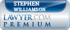 Stephen B. Williamson  Lawyer Badge