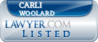 Carli Woolard Lawyer Badge