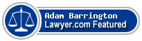 C. Adam Barrington  Lawyer Badge