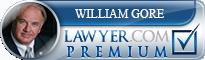 William C. Gore  Lawyer Badge