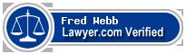 Fred D. Webb  Lawyer Badge