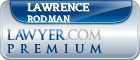 Lawrence Bernard Rodman  Lawyer Badge