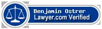 Benjamin Ostrer  Lawyer Badge