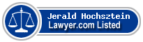 Jerald Hochsztein Lawyer Badge