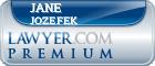 Jane M. Jozefek  Lawyer Badge