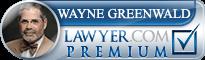 Wayne M. Greenwald  Lawyer Badge