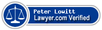 Peter D. Lowitt  Lawyer Badge