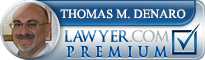 Thomas M. Denaro  Lawyer Badge