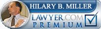 Hilary B. Miller  Lawyer Badge