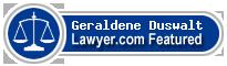 Geraldene Sherr Duswalt  Lawyer Badge