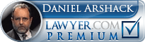 Daniel N. Arshack  Lawyer Badge