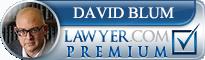 David Blum  Lawyer Badge
