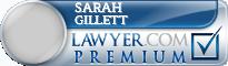 Sarah Jane Gillett  Lawyer Badge
