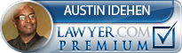 Austin I. Idehen  Lawyer Badge