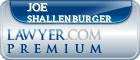 Joe Henry Shallenburger  Lawyer Badge