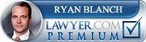 Ryan Blanch  Lawyer Badge