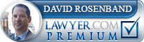 David L. Rosenband  Lawyer Badge