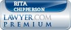 Rita Carrie Ann Chipperson  Lawyer Badge