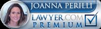 Joanna Marie Perilli  Lawyer Badge