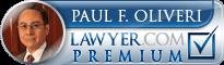 Paul F. Oliveri  Lawyer Badge